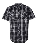Burnside® Plaid Short Sleeve Shirt