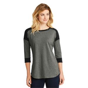 New Era® Ladies Heritage Blend 3/4-Sleeve Baseball Raglan
