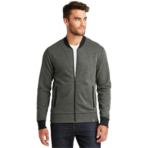 New Era® Men's French Terry Baseball Full-Zip